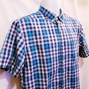 Old Navy Classic Button Down Shirt -Size L